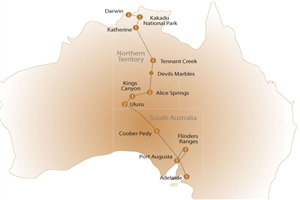 15 day Outback Adventure - click to expand