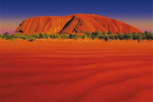 Ayers Rock - click to expand