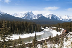 Canadian Rockies - click to expand