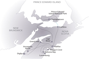 8 day Nova Scotia & Prince Edward Island - click to expand