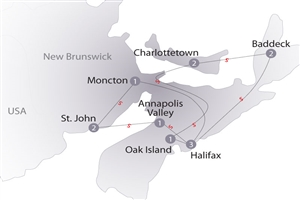 13 day Circle Newfoundland & Labrador - click to expand