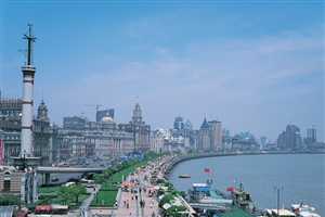 Shanghai Waterfront Bund - click to expand