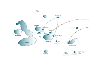 7 Day Voyage Galapagos - click to expand