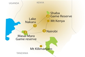 7 Day Kenya Safari with Sarova Hotels - click to expand