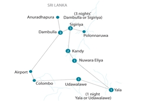 8 Day Discover Sri Lanka - click to expand