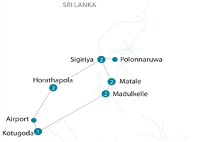 10 day Flavours of Sri Lanka - click to expand