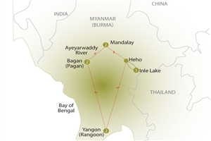 8 Day Essential Myanmar - click to expand