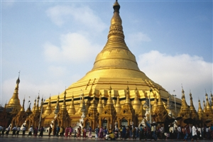 Schwedagon Pagoda - click to expand