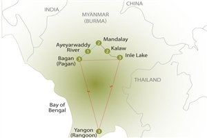 15 Day Best of Burma Tour - click to expand