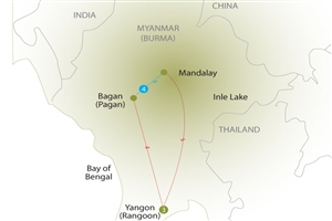 8 day Road To Mandalay - click to expand