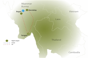 8 day Road to Mandalay (Option A) - click to expand
