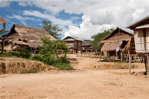 Akha Village - click to expand