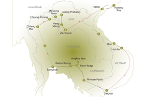 30 Day Great Indochina Loop - click to expand