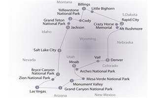 14 day Scenic Parks Explorer - click to expand