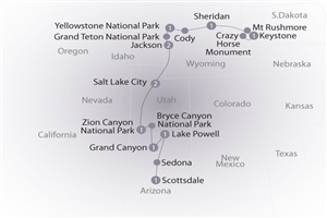 12 day National Parks of America - click to expand