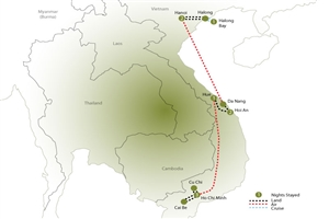 10 Day Highlights of Vietnam - click to expand