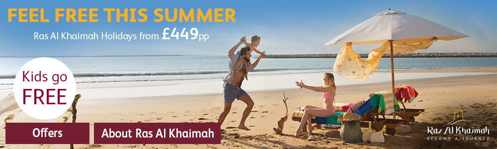 FEEL FREE THIS SUMMER - Ras Al Khaimah Holidays