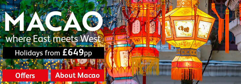 Macao - Your Far East Stopover