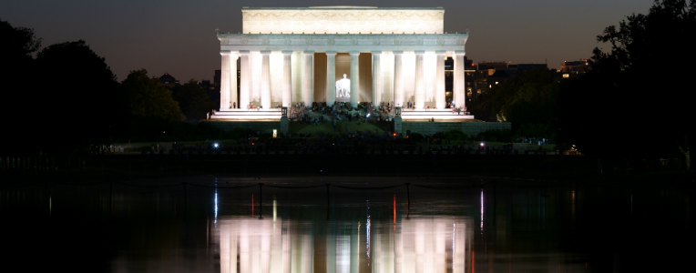 Washington's Lincoln Memorial