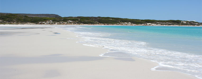 South Africa's white sand beaches
