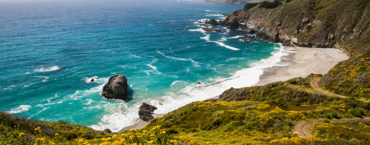 Californian coast line