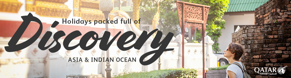 Discover Asia and Indian Ocean