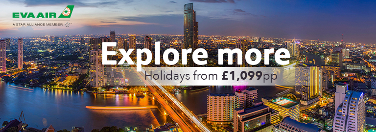 Explore more with EVA Air